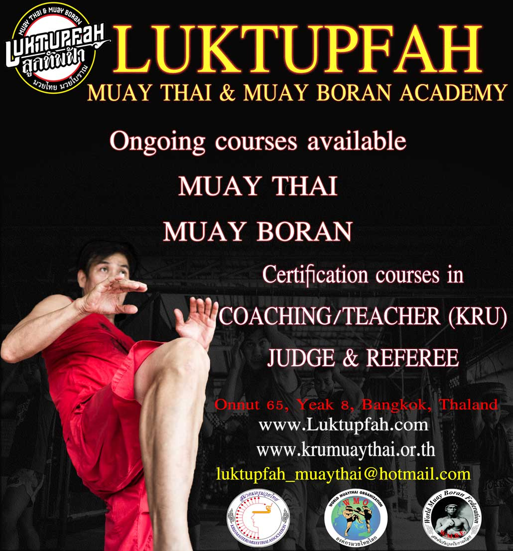 Luktupfah Muaythai and Muayboran Academy