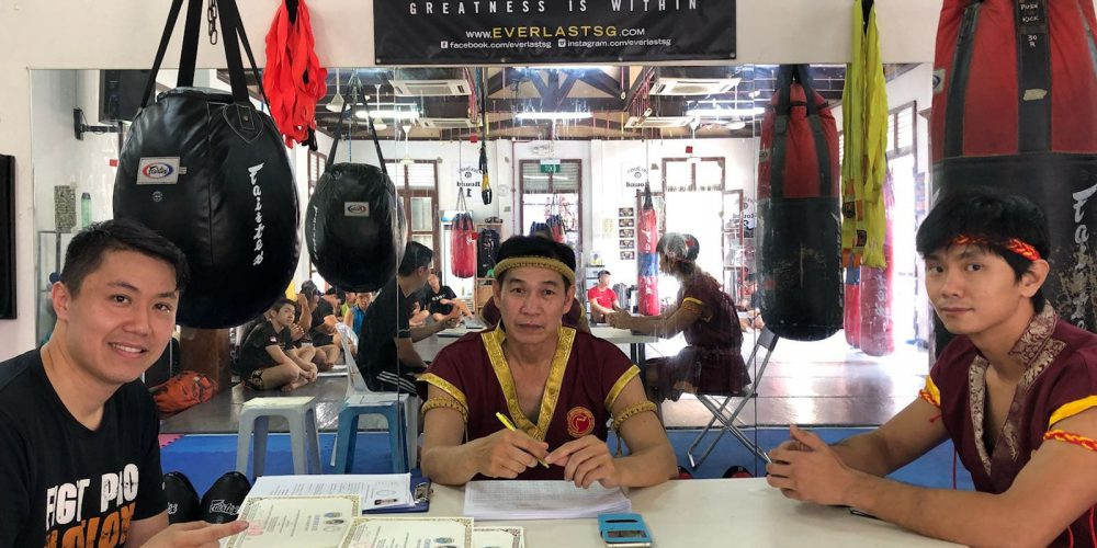Kru Muaythai seminar in Singapore