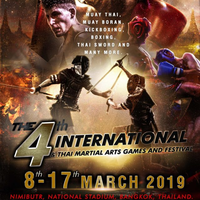 4th International & Thai Martial Arts Games and Festival 2019